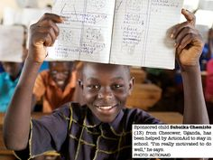 ActionAid photo of the week. See more on our education work in Uganda: http://act.ai/uganda_education
