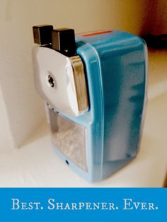 Best. Sharpener. Ever. www.classroomfriendlysupplies.com