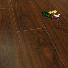 Dark, but not too dark! Balento QuietWalk Whistler Walnut Wood 10mm Laminate Flooring