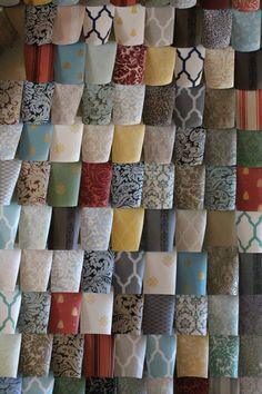 Hand crafted wallpaper offers custom colors, texture and patterns.