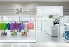 24 Issey Miyake store by Moment Design Hakata. Visit City Lighting Products! https://www.facebook.com/CityLightingProducts