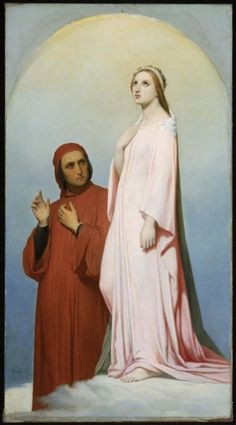 My heroine, Beatrice, was influenced by Dante Alighieri's Beatrice. I love Dante, and I love his fascination with someone that he's never really met.