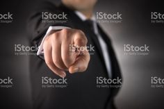 Businessman points his finger at you stock photo 84777333 - iStock