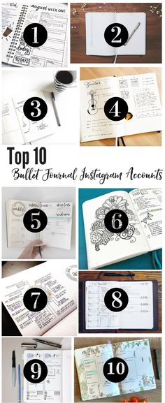 The Top 10 Instagram Accounts for Bullet Journal Ideas