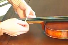 Violin Lab - Beginner Online Violin Lessons (good HOW TO on putting tapes on fingerboard)