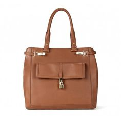 Sole Society Bags - PADLOCK LEATHER SHOPPERs - FAYE