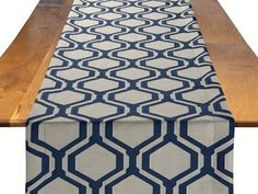 Federal Honeycomb Table Runner