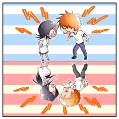 Bleach Ichigo And Rukia, Persona 5, Location History, Chibi, Best Friends, Anime, Movie Posters, Fictional Characters, Ideas