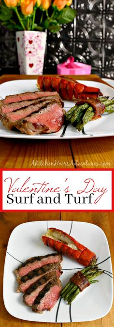 This Surf and Turf dinner will wow your loved one and make your #ValentinesDay romantic!  Whole Foods Market has everything you need for a stunning dinner.