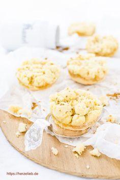 Plätzchen Rezepte, Kuchen Rezepte: Leckere Apfelkuchen Kekse mit Butterstreuseln nach einem Rezept von herzelieb (Werbung) #deutsch #foodblog #plätzchen #kekse #nettomarkendiscount