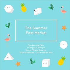 Our Final Pop Up of the Summer  Come meet the PrismPals and I on Sunday July 24th from 11-5pm at the @thepostmarket  Sales and smiles will be offered