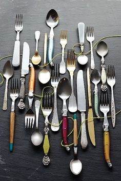 Rediscovered Flatware - anthropologie.com