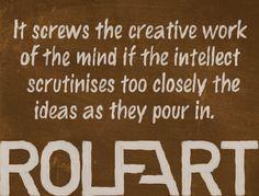 ® Rolfart 6 Mindfulness, Creative, Design, Art, Art Background, Kunst, Design Comics, Consciousness, Art Education