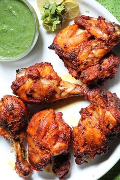 Tandoori Chicken Recipe Food that makes your tummy happy!You are here: / / Tandoori Chicken RecipeTandoori Chicken one of my favourite, i make it quite often. Grilled Tandoori Chicken Recipe, Authentic Tandoori Chicken Recipe, Recipe For Tandoori Chicken, Tandori Chicken, Tandoori Recipes, Indian Chicken Recipes, Chicken Curry, Veg Recipes, Indian Food Recipes