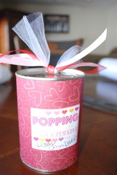 Pop Top Can surprise for Valentine's Day