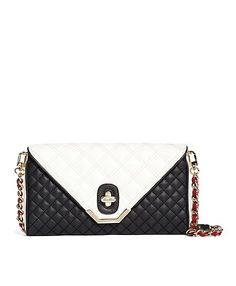 Brooks Brothers Quilted-Calfskin-Clutch $398