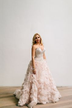 Wedding Dress: Allure Bridal - http://www.stylemepretty.com/portfolio/allure-bridal Photography: Becca Borge Photography - http://www.stylemepretty.com/portfolio/becca-borge   Read More on SMP: http://www.stylemepretty.com/2015/04/28/glamorous-geometric-south-beach-wedding/