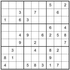 Here's Tuesday's beginners Sudoku (08/08/2013), enjoy and play online by clicking this pic.