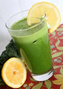 Cleansing Smoothie - Apple, Kale, and Celery