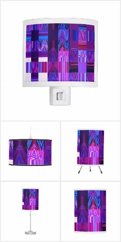 The Violet Mélange Collection designed by Artist C.L. Brown features an abstract kinetic light painting edited extensively for design with modern shades of ultra violets, deep blues, and a patchwork of hot colors woven in that you're guaranteed to love. The collection includes home décor such as lamps and clocks, men's clothing such as t-shirts and ties, women's clothing and accessories such as leggings and headbands, bedroom décor such as pillows and blankets, bath items such as shower >>>