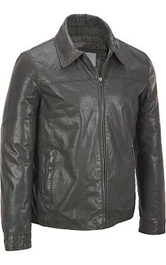 Marc New York Chest Seam Leather Jacket - #WilsonsLeather #MarcNewYork #Leatherjacket
