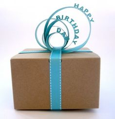 Paper Gift Topper - The Crafts Dept.