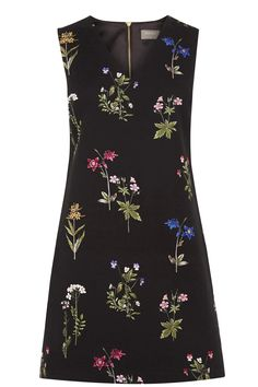 Inspired by beautiful botanical prints, this little black dress...currently 20% off on sale