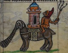 Detail from medieval manuscript, British Library Stowe MS 17 'The Maastricht Hours' f36r