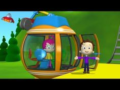 """TuTiTu creates a funicular! 3D animation """"toys come to life"""" videos for toddlers"""