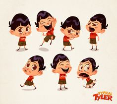 Typical Tyler - Animation Series Project on Behance