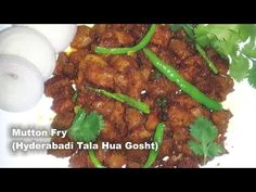 Hyderabadi Tala hua Gosht Recipe Video (Dry) - Fried Mutton - Simple, Easy & Quick Hyderabadi Cooking (English) - YouTube