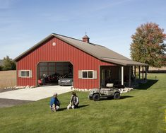 House plan great morton pole barns for wonderful barn inspiration. Pole Barn House Plans, Pole Barn Homes, Garage Plans, Pole Barns, Garage Ideas, Pole Barn Shop, Pole Barn Garage, Pole Buildings, Shop Buildings