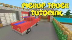 Minecraft Xbox One - Pickup Truck Tutorial