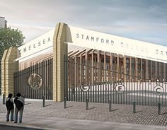 """Check out new work on my @Behance portfolio: """"Stamford Bridge Gates – a design competition"""" http://be.net/gallery/37585883/Stamford-Bridge-Gates-a-design-competition"""