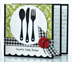 how to make a recipe book as a gift