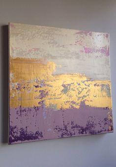 Fools Rush In 24x24 Canvas Artist - Jennifer Flannigan