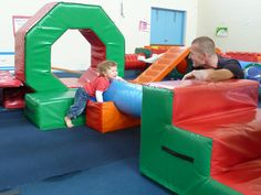 Seacliff KinderGym is a fun, safe environment where children & their carer can learn & play together.