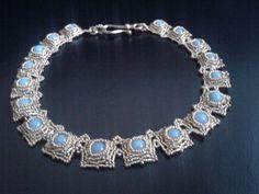 collana perle angelite e perline di tizianat su Etsy, €42.50