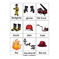 Fire Safety and Firefighters Activities for preschool and kindergarten