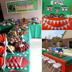 Tate's Amazing Tailgate Football Birthday Party
