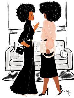 Reunion Femme Noire