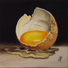 """Little egg"" - Original Fine Art for Sale - � Jane Palmer"