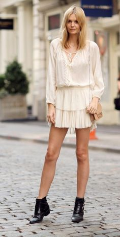 Latest boho style street fashion | | Zefinka.com bring you the trending fashion styles and hot style tips.