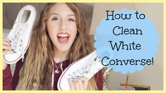 Easy Life Hack: How to Clean White Converse! - YouTube