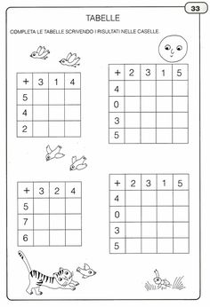 Addition and Subtraction Worksheet Activities Math Addition Worksheets, Kindergarten Math Worksheets, Addition And Subtraction, Math Activities, Have Fun Teaching, Teaching Math, Teaching Geography, Math School, First Grade Math