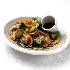 chicken and broccoli stir fry yum!