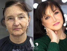 Maquiagem transformação - Antes e depois!