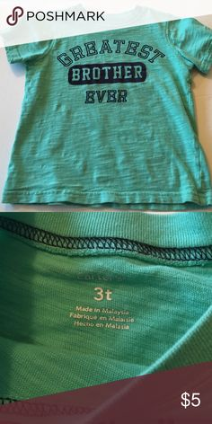 Carters - toddler boy shirt Size 3T boys shirt sleeve shirt; excellent condition! Carter's Shirts & Tops Tees - Short Sleeve