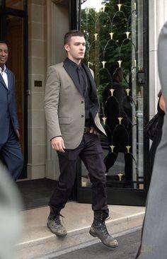 Justin Timberlake Fashion Style