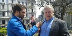 """El """"backstage"""" de la entrevista de la cadena RT-Actualidad, programación especial del noticiero por las elecciones en Argentina. Director de Equilibrium Global, Dr. Alberto Hutschenreuter."""
